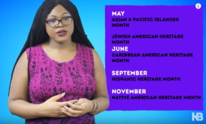 Kat Blaque discusses White History Month in one of the videos ICPJ will be discussing August 14th at the Whittaker Branch of the Ypsilanti Library