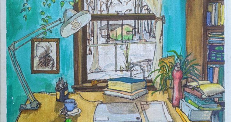 Paint & Mingle with Rachel Montgomery: ICPJ Fundraiser June 27, 2-4 pm